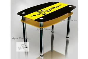 Новые Кухонные столы стеклянные