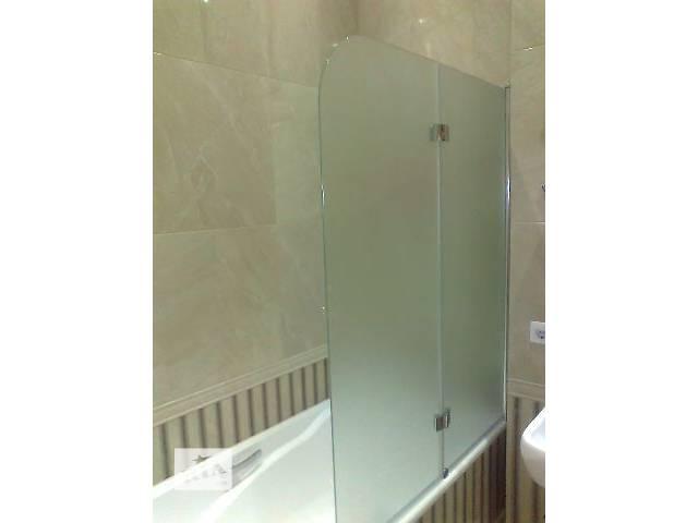 купить бу Стеклянные шторки для ванной, шторы из стекла для душа в Одессе
