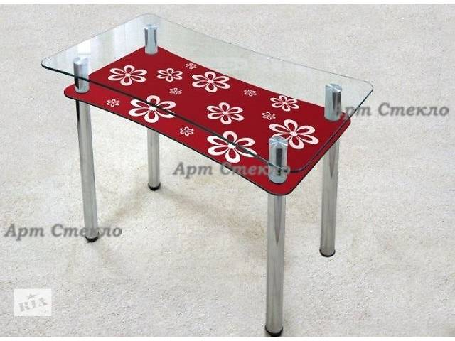 купить бу Стеклянные столы для кухни в ассортименте в Дружковке