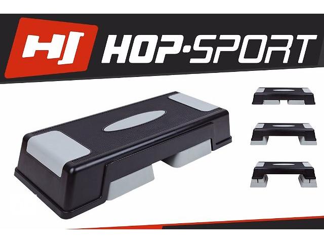 Степ - платформа 3 - ступенчатая HOP-SPORT. Отправка по Украине 1-3дня!!- объявление о продаже  в Тернополе