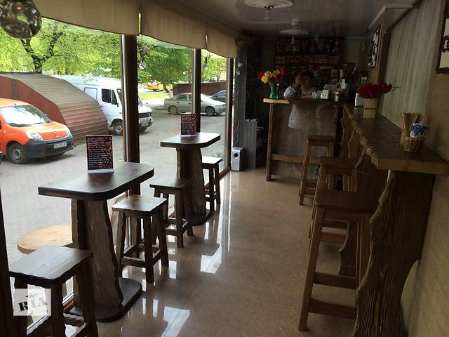 купить бу Стойка барная деревянная для кафе, мебель для кафе в Луцке
