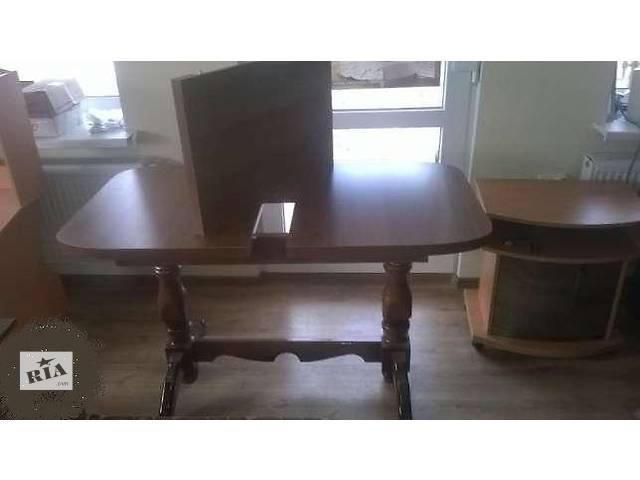 Стол деревянный розкладной 2 ноги(Доставка по Киеву,Тернополю,Виннице,Житомеру 250 грн)- объявление о продаже  в Хмельницком