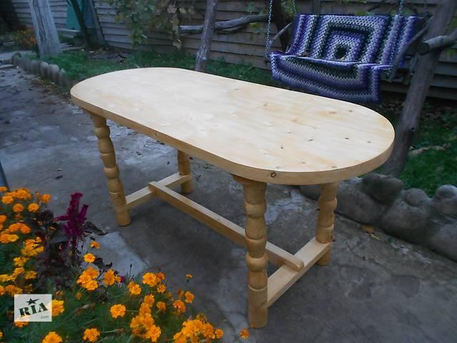 бу Стол дизайнерский,дерево, ручная работа(2) в Андрушевке
