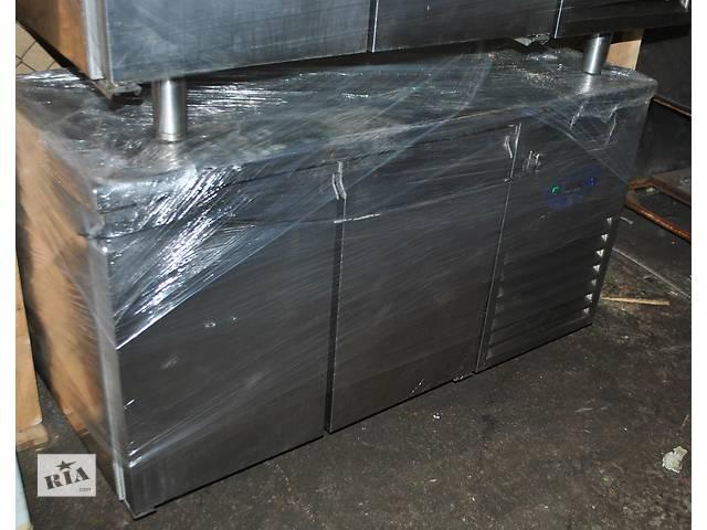 продам Стол холодильный двухведерный бу DESMON TIM 2.Для ресторана кафе бара. Стол оснащен мощным холодильным агрегатом   бу в Киеве