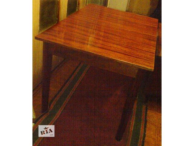 продам Стол обеденный письменный лакированный полированный 120х80х73 см бу в Киеве