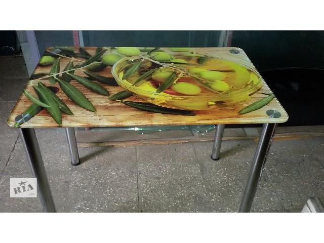 Стол обеденный стекляный- объявление о продаже  в Черкассах