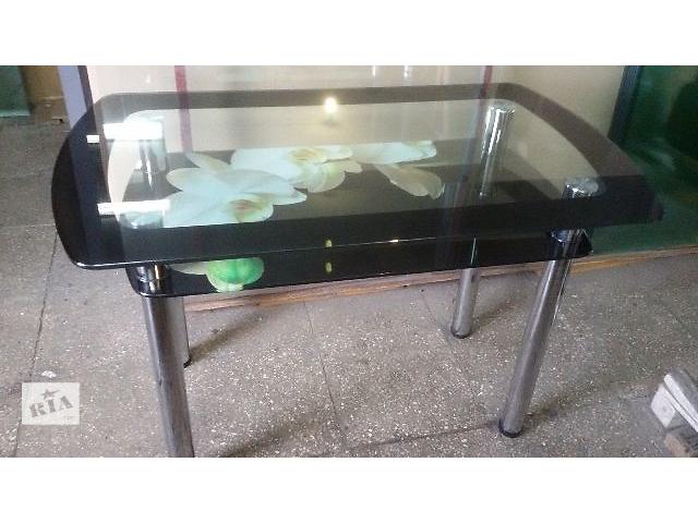 бу Стол обеденный из стекла для кухни в Черкассах