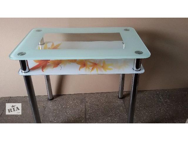 Стол обеденный из стекла для кухни- объявление о продаже  в Черкассах