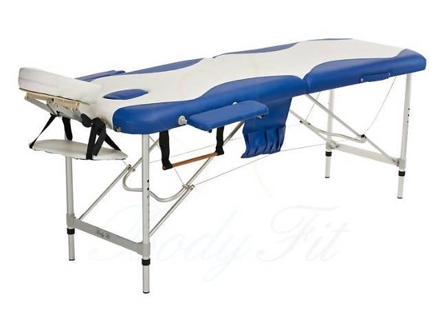купить бу Стол для массажа Body Fit (алюминиевый 2-х сегментный 2 цвета). Отправка по всей Украине! в Тернополе