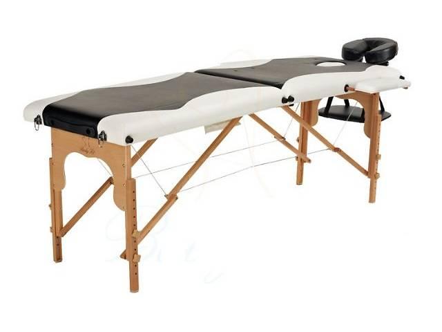 купить бу Стол для массажа Body Fit (деревянный 2-х сегментный 2 цвета). Отправка по Украине!! в Тернополе