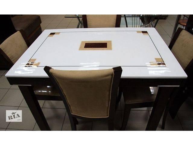 Стол кухонный раскладной со столешницей из искусственного камня ZH-878S-RED- объявление о продаже  в Киеве