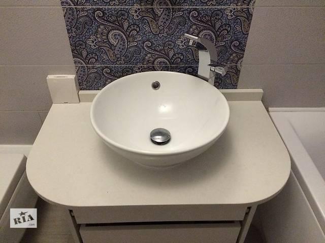бу Столешница в ванную. Кварцит. в Киеве