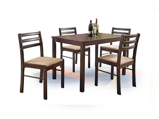 бу Столовий комплект, стіл та 4 стільця, New starter польської фірми Halmar в Червонограде