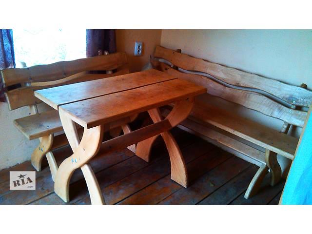 продам Столы, скамейки, стулья. бу в Виннице