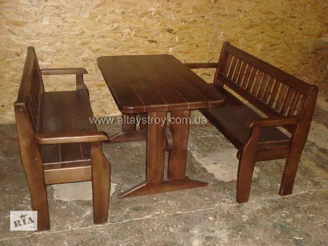 Столы, стулья, скамейки в кафе, бары.- объявление о продаже  в Киеве