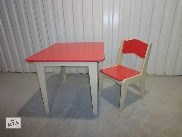 столик и стульчик- объявление о продаже  в Виннице