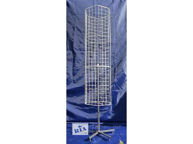 купить бу Стойка вертушка напольная шестигранная в Одессе