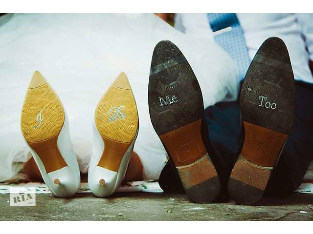 Стразы для свадебной фотосесии на обувь- объявление о продаже  в Днепре (Днепропетровске)