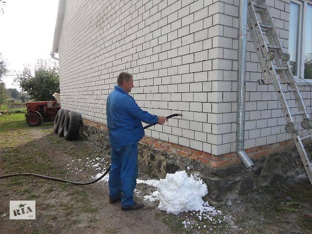 Утепление стен  дома жидким пенопластом.- объявление о продаже   в Украине