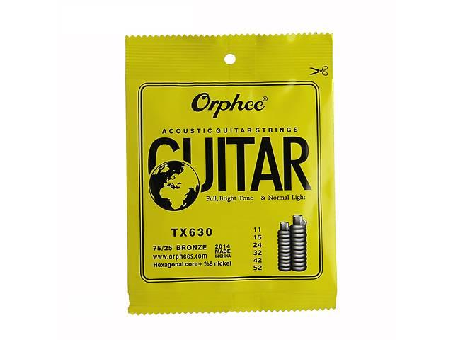 продам Струни для акустики Orphee 11-52 бу в Запорожье