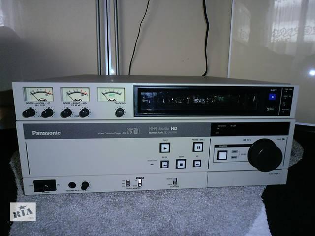 бу Студийный видеоплеер SVHS, VHS Panasonic AG-7510 в Киеве