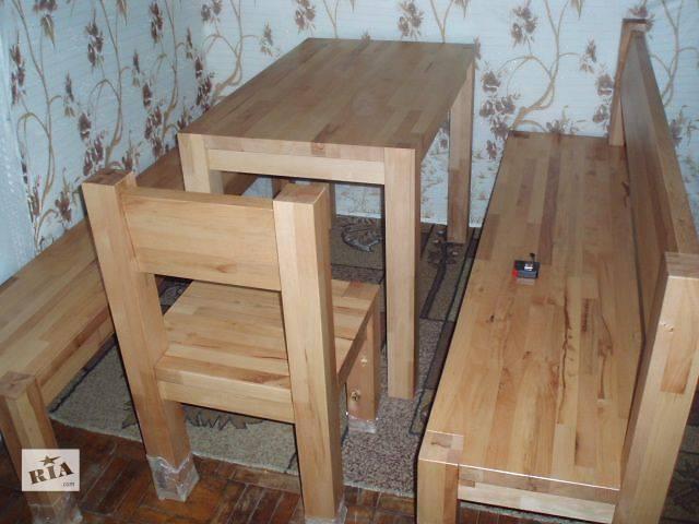 Изготовление Деревянной мебели из Бука, Дуба и Ясеня.- объявление о продаже  в Запорожье