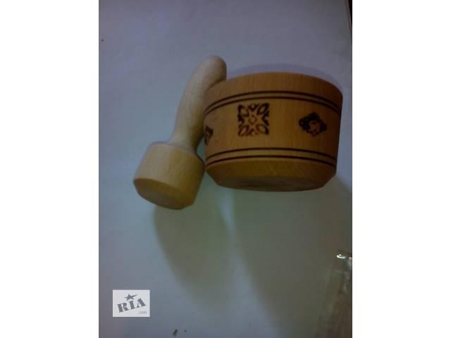 Ступки деревянные- объявление о продаже  в Бердянске