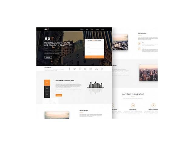 купить бу Создание и разработка сайтов, landing page, интернет-магазин, редизайн  в Украине