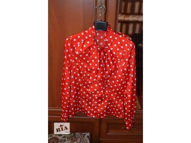 Стильна блуза в горошок!- объявление о продаже  в Черновцах