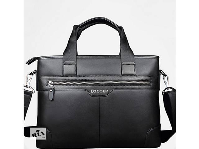 Стильная мужская сумка Locoer. 39х28х9см. Много Вариантов сумок- объявление о продаже  в Киеве