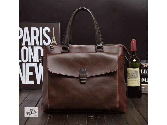 продам Стильная мужская сумка-портфель. Размер 45-30-6 см. Варианты бу в Киеве