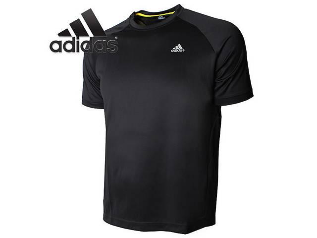Стильная спортивная футболка черного цвета  Adidas Z32715 Essentials Functional Tee оригинал- объявление о продаже  в Запорожье