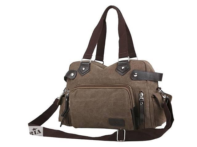 купить бу Стильная спортивная тканевая сумка. Размер 43-28-18 см. Варианты в Киеве
