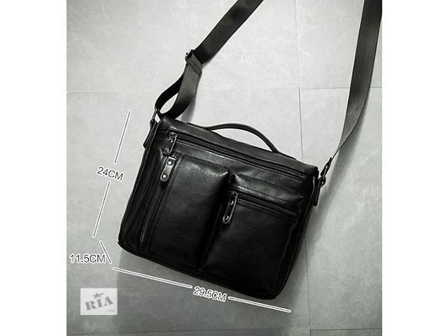 бу Стильная и удобная мужская сумка через плечо. Варианты есть в Киеве