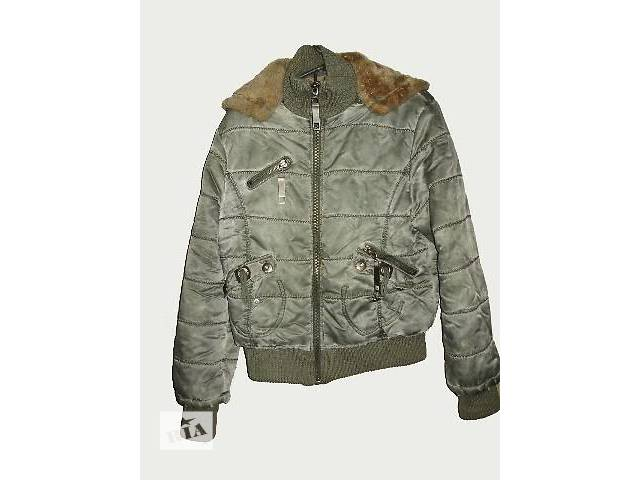 Стильная женская осення курточка на искусственном меху с капюшоном- объявление о продаже  в Запорожье