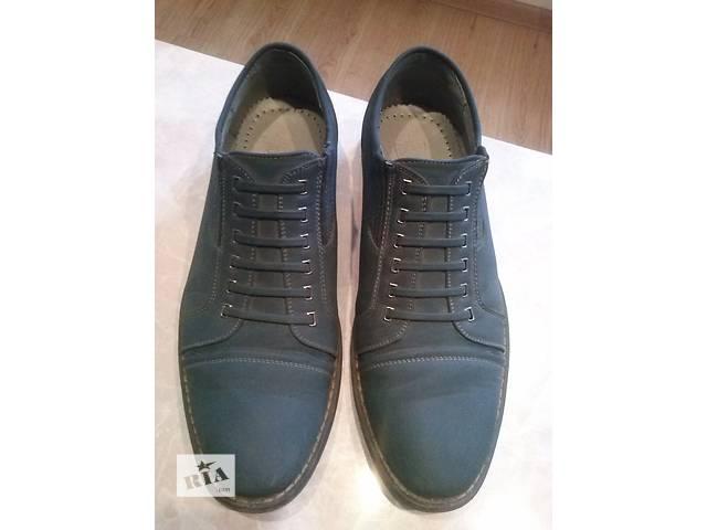 продам Стильные мужские туфли бу в Тернополе