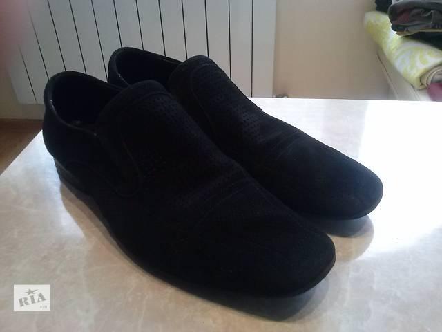 продам Стильные, качественные мужские туфли (натуральный замш) бу в Тернополе