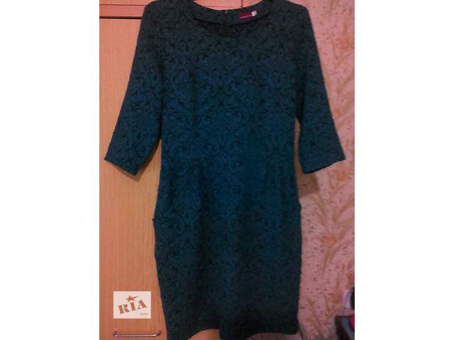 Стильное платье морской волны.- объявление о продаже  в Умани