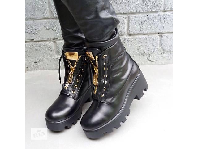 купить бу Стильные Ботинки кожа зима в Харькове