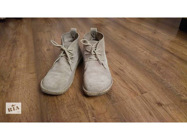 бу Стильные ботинки натуральный замш в Херсоне