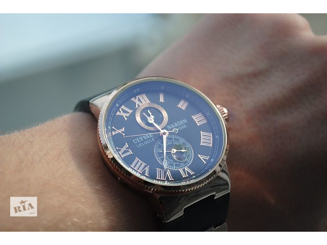 Стильные часы Ulysse Nardin Marine - объявление о продаже  в Львове