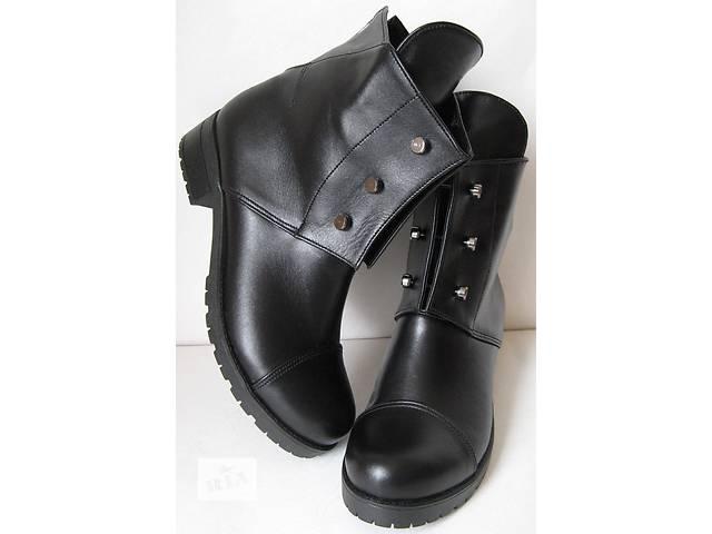 Кожаная женская обувь в плато одесса