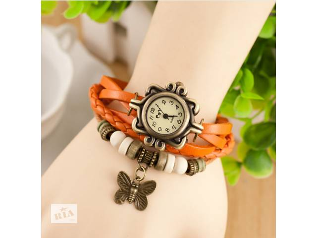 стильные наручные часы браслет в античном стиле женева- объявление о продаже  в Киеве