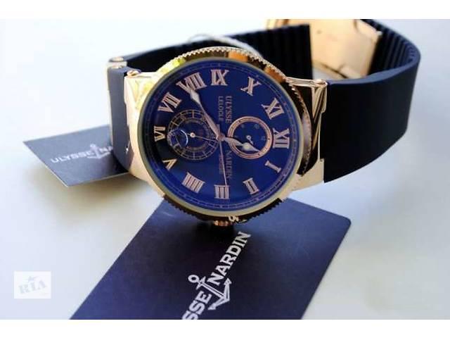 """Стильные наручные часы от Ulysse Nardin """"Marine"""" японского качества- объявление о продаже  в Виннице"""
