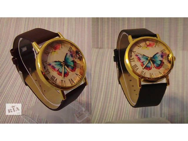 купить бу Стильные наручные часы с бабочкой, В наличии !!! в Запорожье