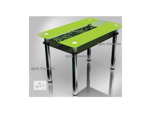 бу Стильные обеденные столы из стекла в Дружковке