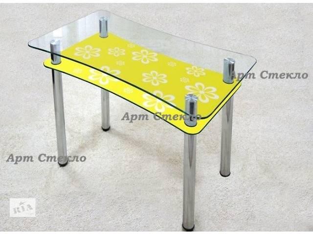 продам Стильные столы из каленого стекла для кухни бу в Дружковке