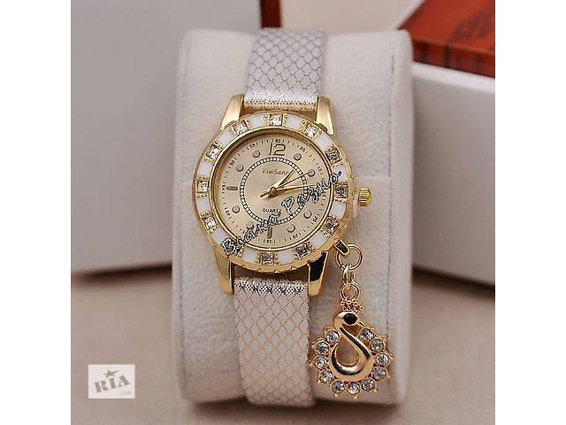 Стильные женские часы Kim Seng с подвеской в виде лебедя- объявление о продаже  в Днепре (Днепропетровске)