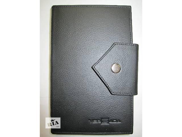 купить бу Стильный мужской кошелек из натуральной кожи в Львове