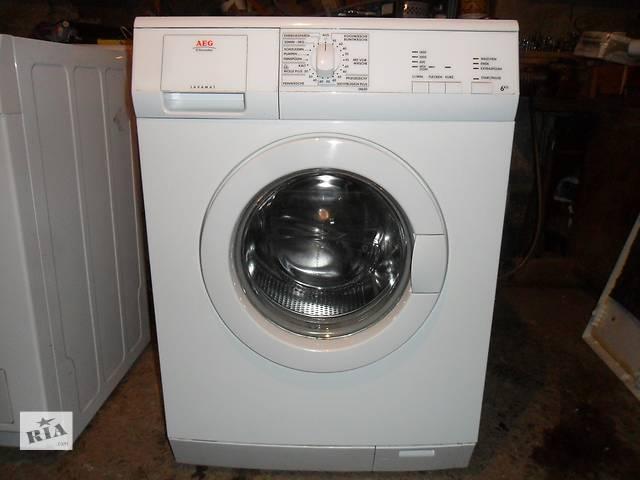 """бу стиральна машина""""AEG""""1400обвх.6кг.хороший стан. в Львове"""